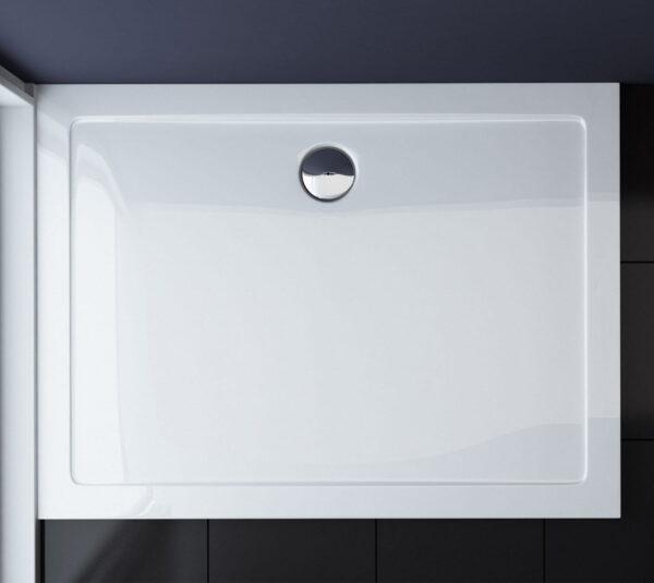 BRODZIK prysznicowy AKRYLOWY PROSTOKĄTNY NISKI SLIM MSB10 - SWISS MEYER