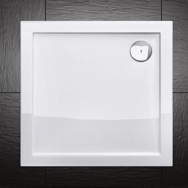 BRODZIK prysznicowy AKRYLOWY KWADRATOWY NISKI SLIM MSB20 - SWISS MEYER