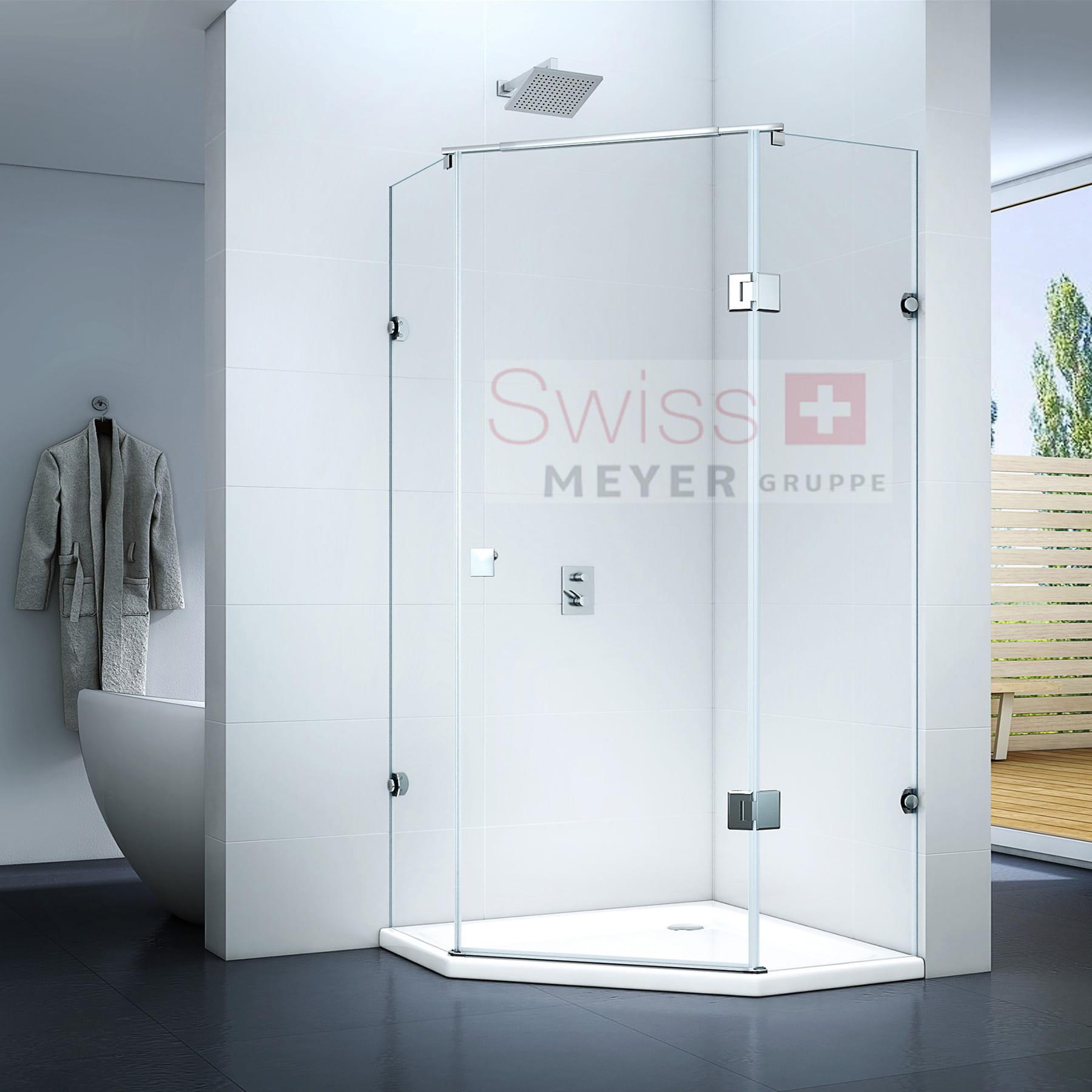 KABINA prysznicowa UCHYLNA MS502 - SWISS MEYER