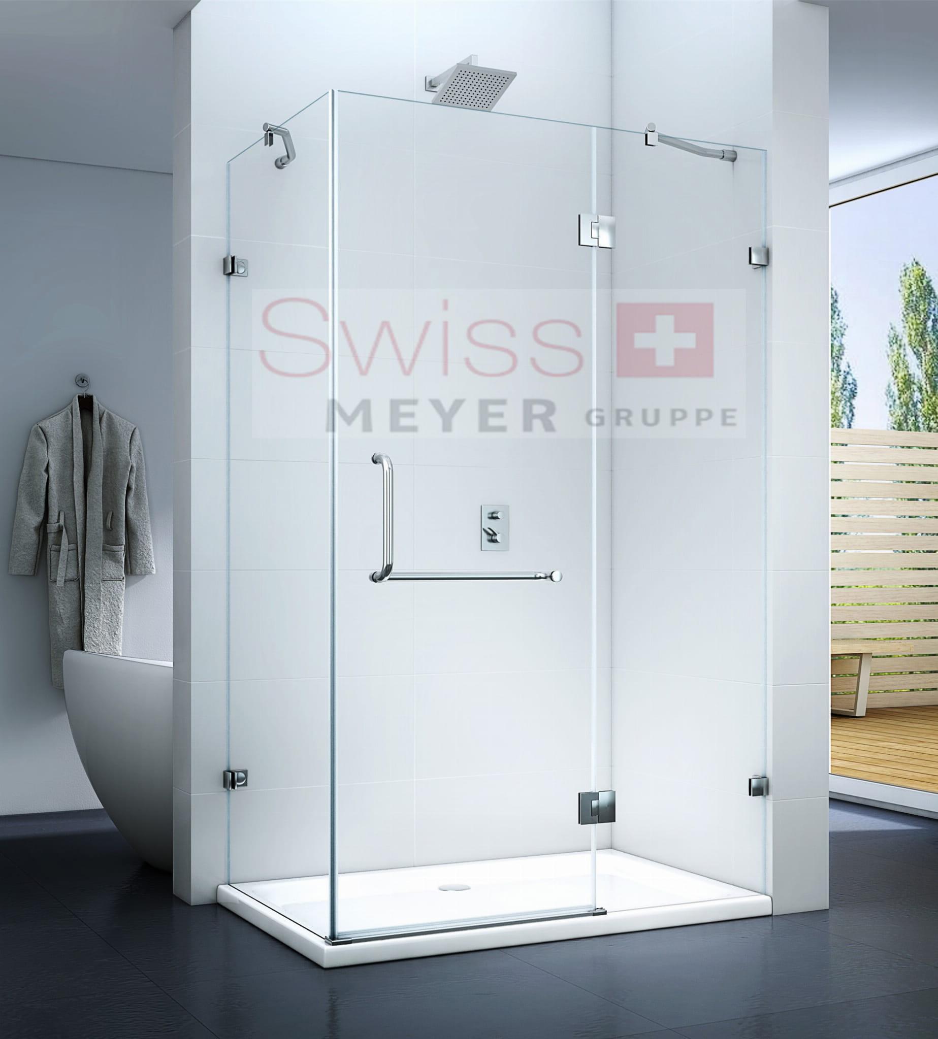 KABINA prysznicowa UCHYLNA MS4000C - SWISS MEYER PREMIUM