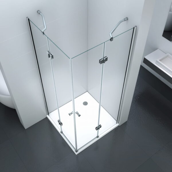 KABINA prysznicowa 90 x 90 UCHYLNA MSD3001 - SWISS MEYER PREMIUM