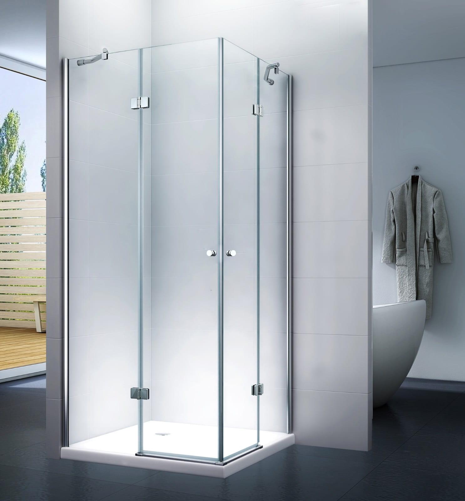 KABINA prysznicowa 100 x 100 UCHYLNA MSD3001 - SWISS MEYER PREMIUM