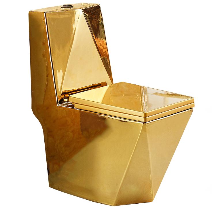 WC kompakt złoty. DIAMENT GOLD swiss meyer